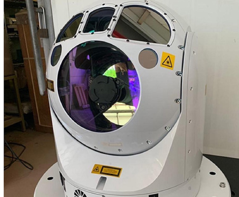 Elbit Systems SPECTRO XR minutes before installment onboard a naval platform