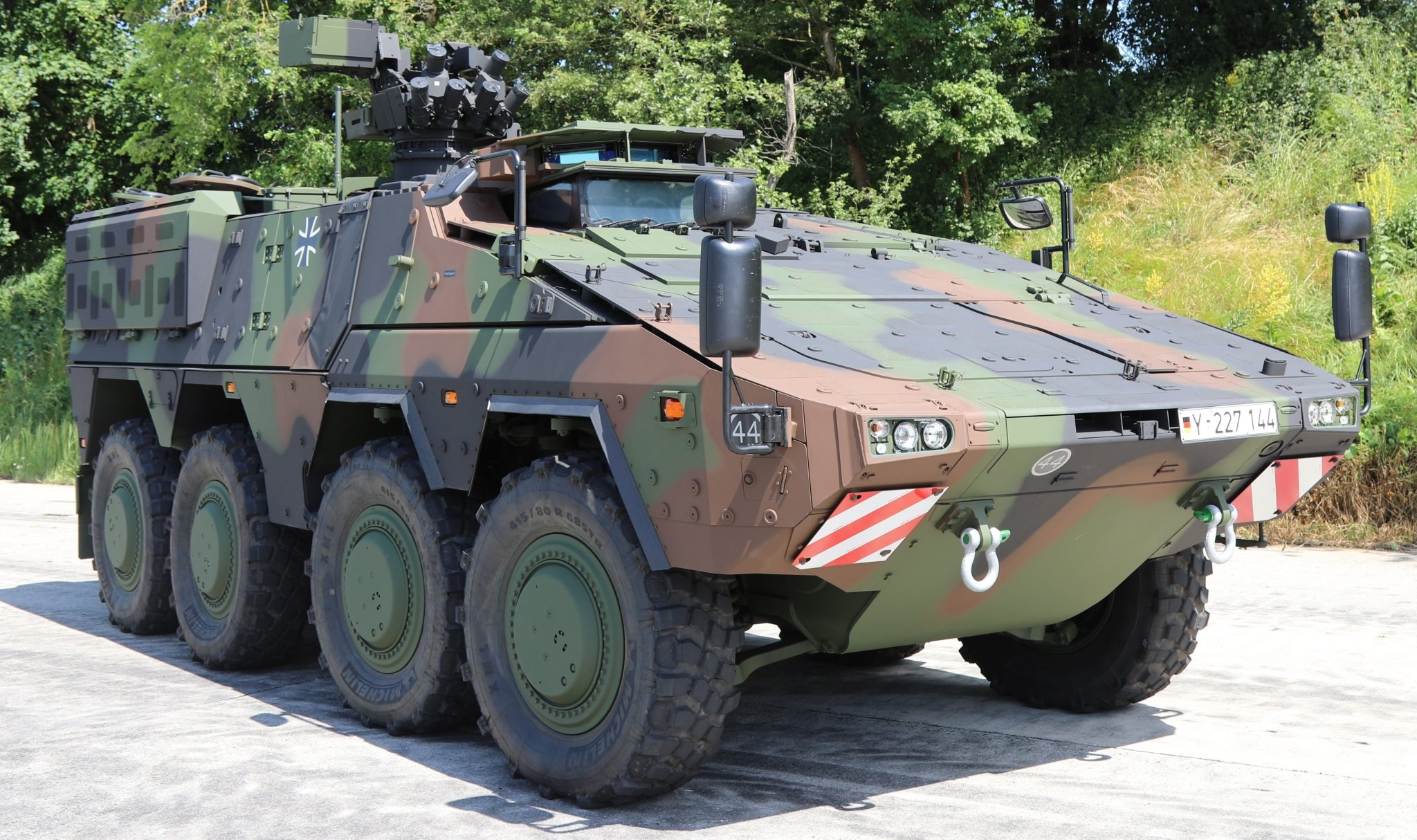 Final Boxer Armored Fighting Vehicles Delivered for German Armed Forces