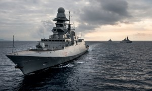 Italian Navy Bergamini class FREMM multipurpose frigate