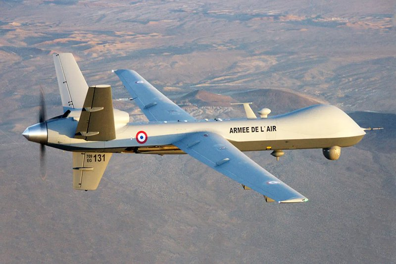 French Air Force General Atomics Aeronautical Systems MQ-9 Reaper Unmanned Aerial Vehicle