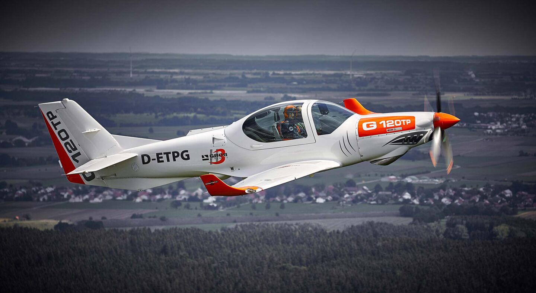 Grob G120TP basic training aircraft