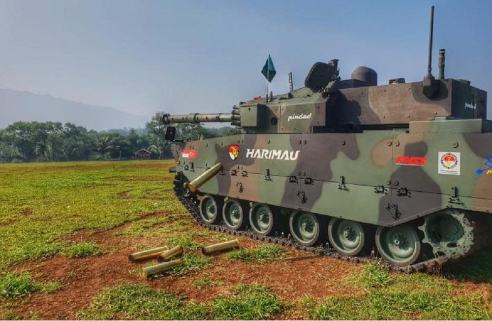 Indonesian Army Harimau Modern Medium Weight Tank (MMWT)