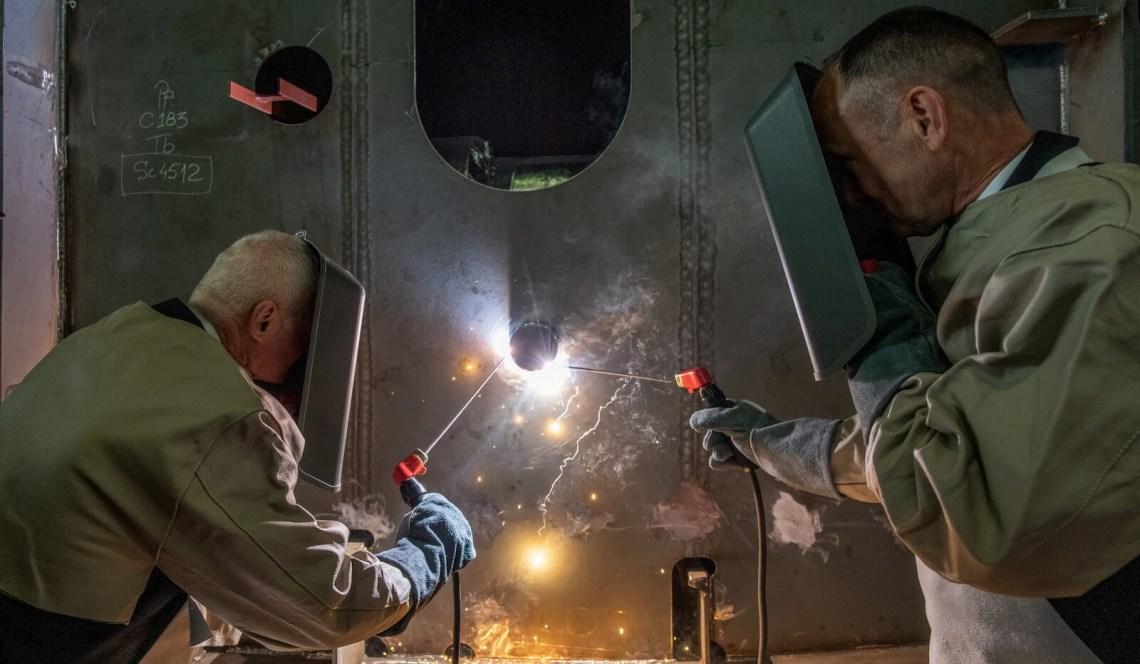 June Damen Shipyards Galati Holds Keel-laying Ceremony for HNLMS Den Helder