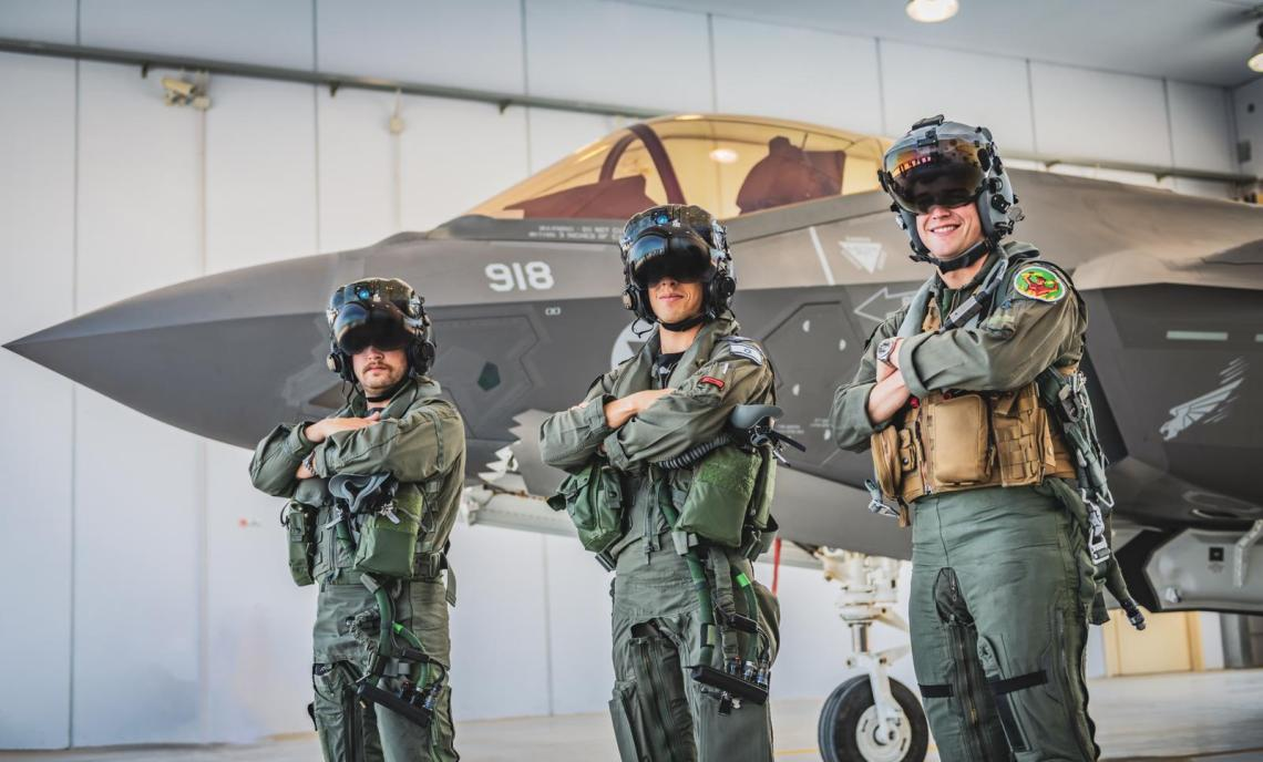Israeli Air Force Participates in Multinational F-35 Fighters Exercise in Italy