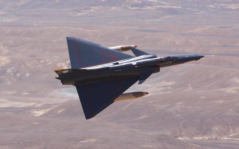 Israel Aerospace Industries Kfir Multirole Combat Aircraft