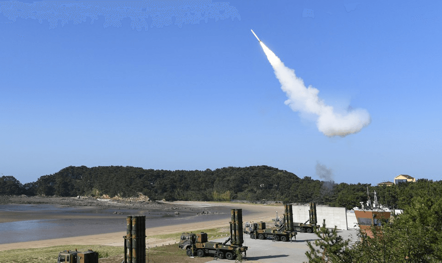 Cheongung M-SAM surface-to-air missile system