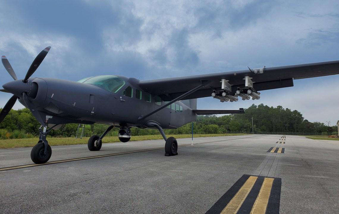 MAG Aerospace MC-208 Guardian multi-role aircraft
