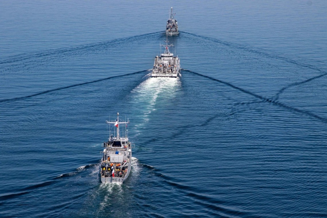 NATO Standing Naval Forces Participate in the 50th Iteration of Exercise BALTOPS
