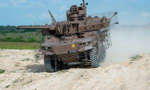 Nexter Unveils Jaguar EBRC Reconnaissance Vehicle with New Wire Cage Armor