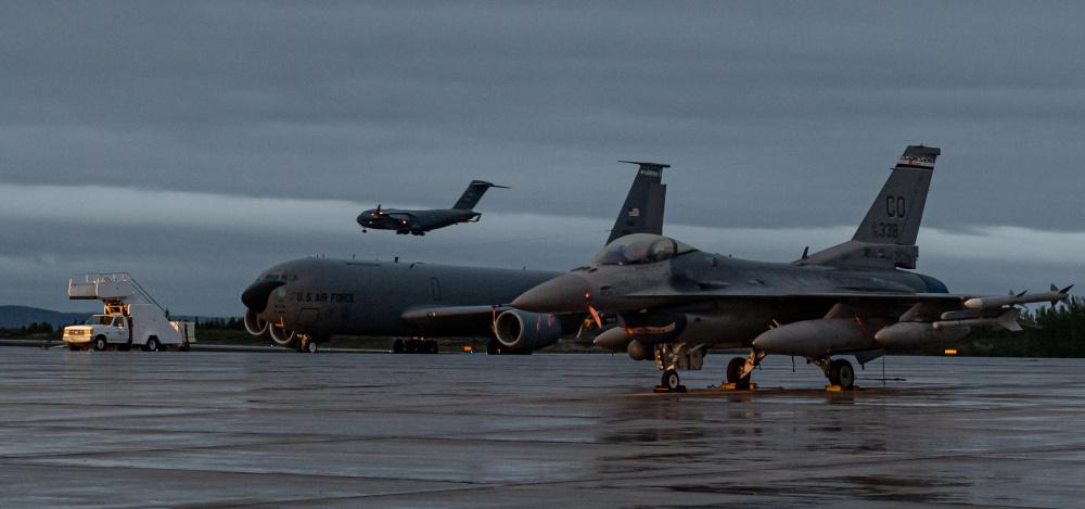 North American Aerospace Defense Command (NORAD) Conducts Arctic Air Defence Exercise Amalgam Dart