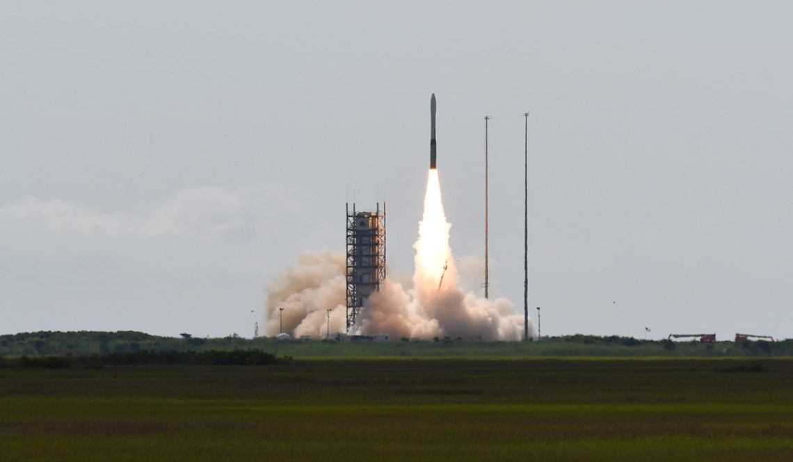 Northrop Grumman launched its Minotaur I rocket today, successfully placing a NRO payload into orbit.