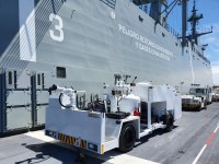 NSPA Delivers New firefighting Vehicle to Spanish Navy Aircraft Carrier