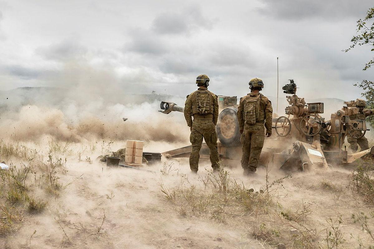 4 Regiment Royal Australian Artillery Successfully Fired MRSI on Exercise Chau Pha
