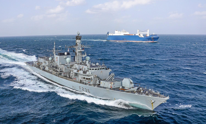 Royal Navy HMS Montrose (F236) Frigate