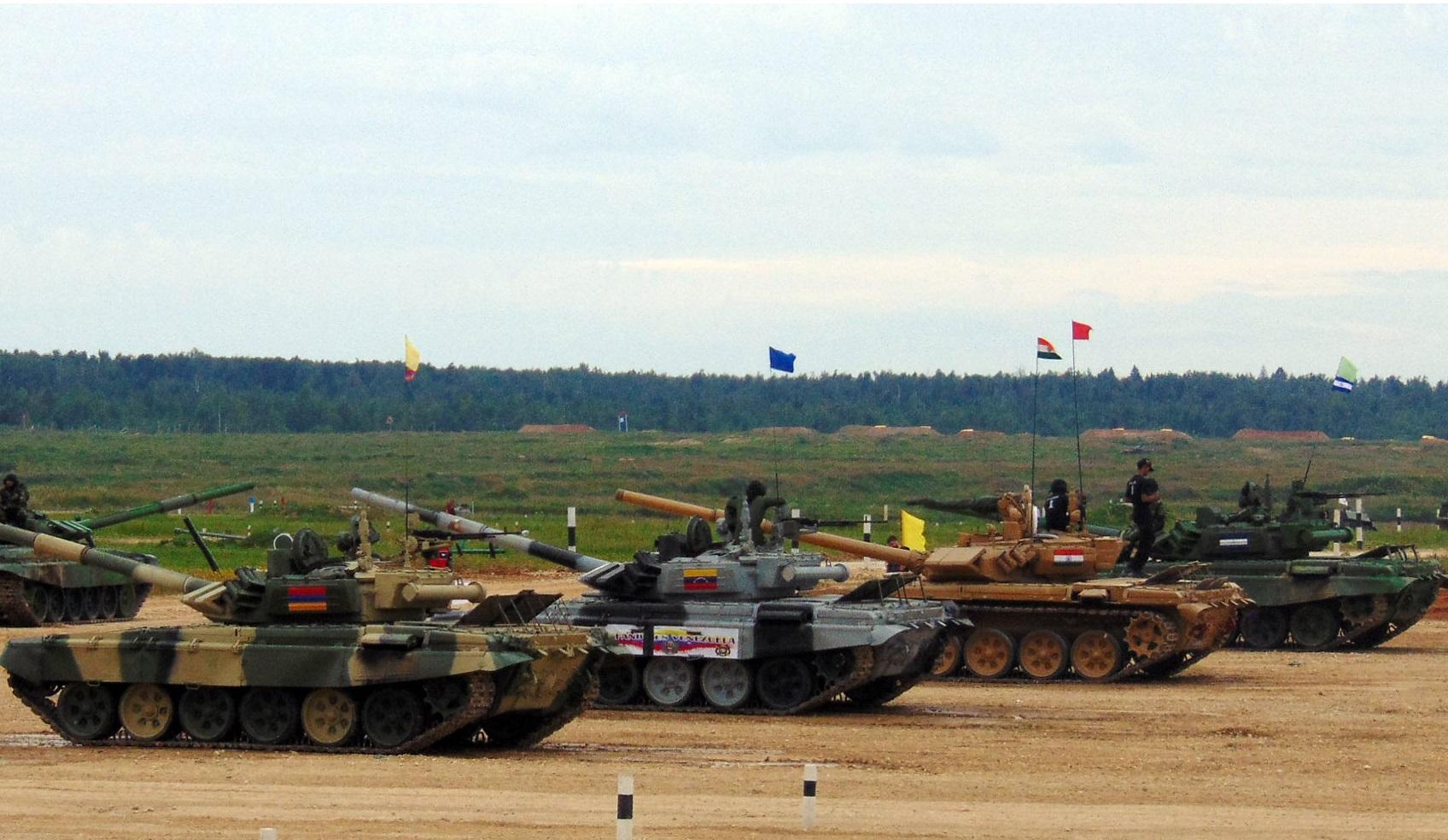 The International Army Games: Tank Biathlon