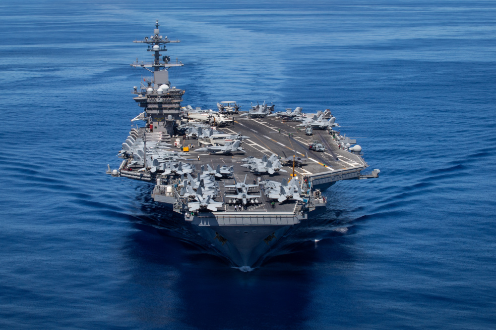 US Navy Carrier Strike Group One Arrives in Hawaiian Islands Operating Area