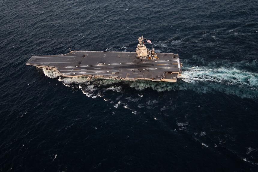 US Navy USS Gerald R. Ford (CVN 78)