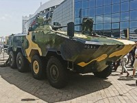 Minsk Wheeled Tractor Plant Volat V-2 MZKT-690003 8x8 Armored Personnel Carrier