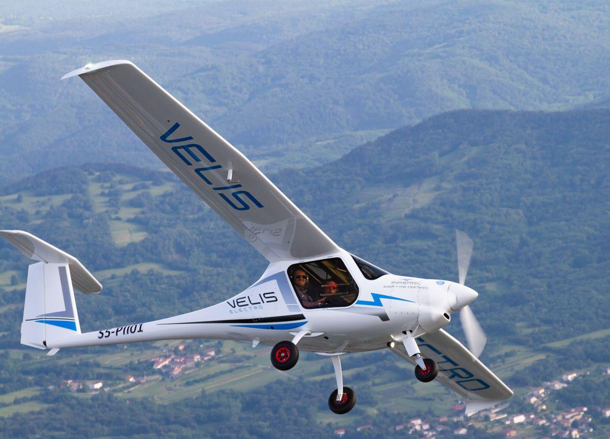 Velis Electro Electric Aircraft