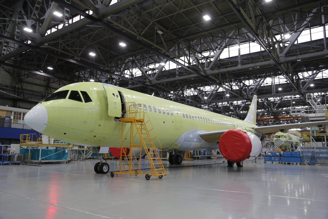 The Irkut Corporation has built MC-21-310 prototype that will undergo flight tests with Russian PD-14 engines.