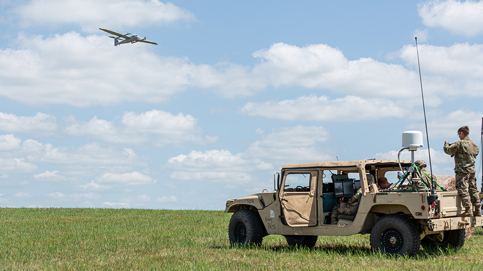 AeroVironment JUMP 20 fixed-wing unmanned aircraft system