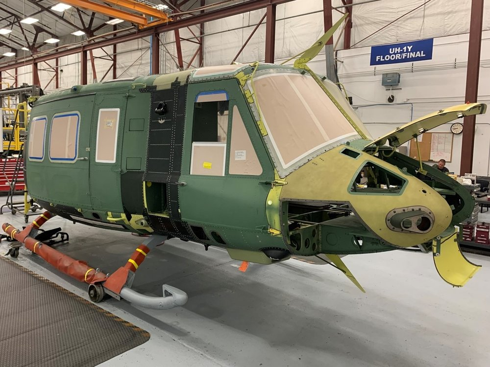 Bell Textron Begins Manufacturing UH-1Y Venom Helicopter For Czech Air Force