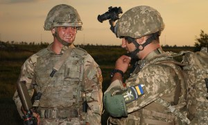 British Army Royal Regiment of Scotland Prepare for Exercise Cossack Mace in Ukraine