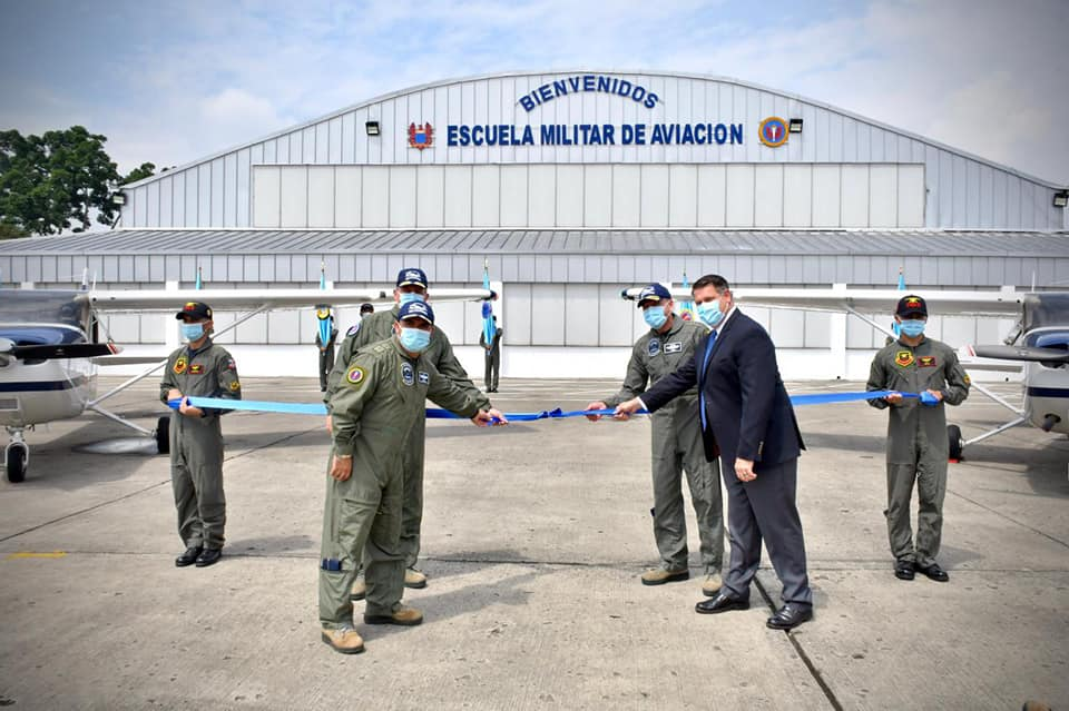 Colombian Air Force Received Its First Four Cessna 172S SKYHAWKs