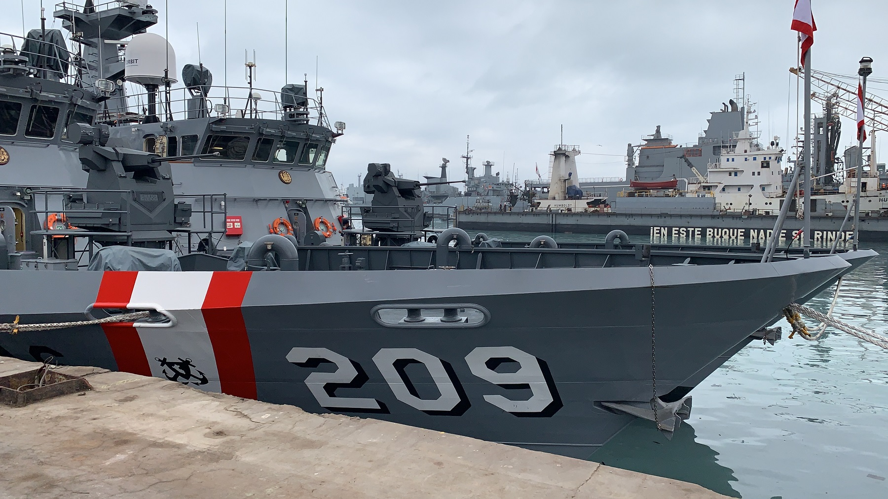 "Peruvian Navy Río Pativilca Class Patrol boat PPMM 209 ""Río Locumba"""