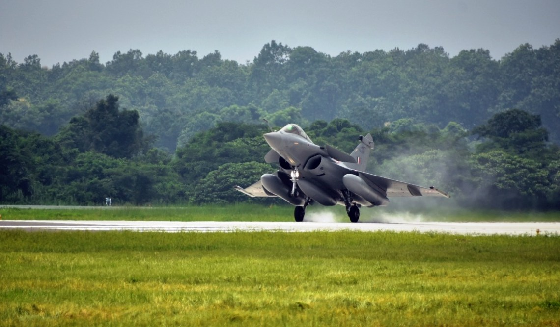 Indian Air Force Stands Up Second Dassault Rafale Squadron at Hashimara Air Base