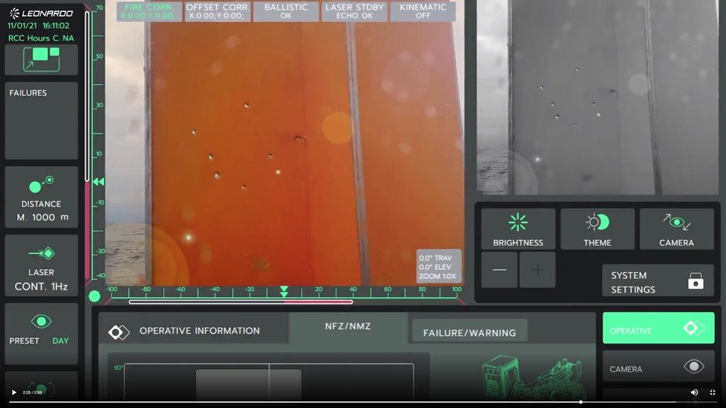 Leonardo Lionfish 12.7 Inner Reloading Remote Weapon Station (RWS)