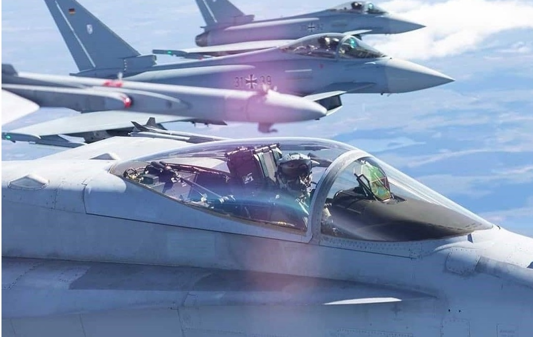 NATO and Partners Test 4th and 5th Fighter Generation Interoperability in the Baltic Region