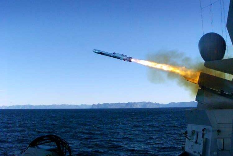 Kongsberg Defence & Aerospace's Naval Strike Missile (NSM)