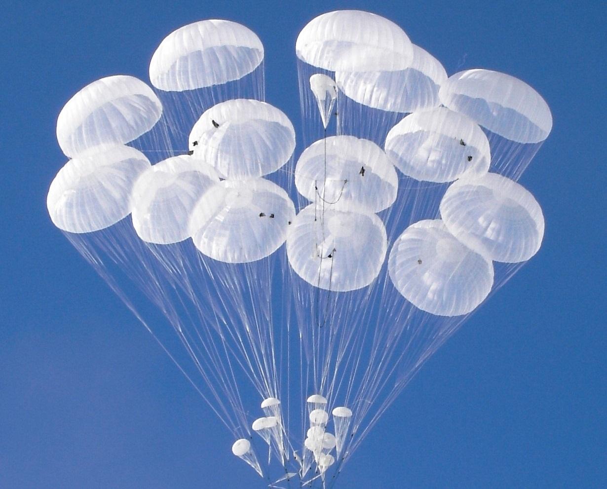 Technodinamika cargo aerial delivery