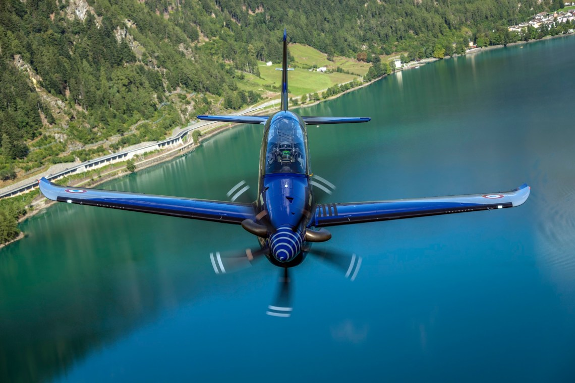 French Air Force Pilatus PC-21 Single-Engine Turboprop Trainer