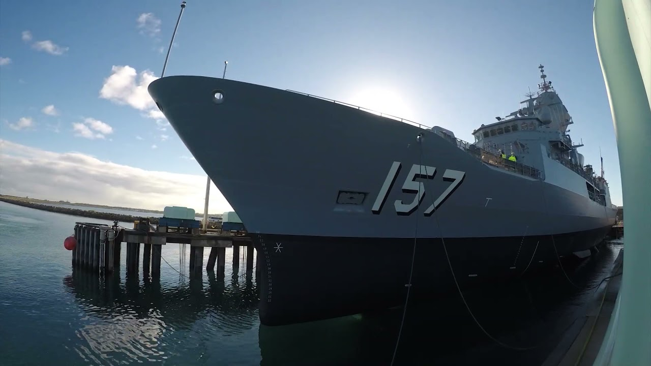 Royal Australian Navy Anzac-class Frigate HMAS Perth Completes AMCAP Upgrades