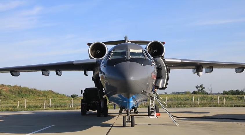 Russian Beriev Be-200 Amphibious Plane Flies to Turkey to Help Extinguish Wildfires
