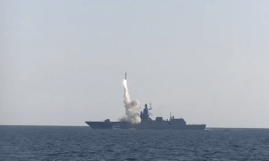 Russian Navy Admiral Gorshkov Frigate Successfully Test-fired Zircon Anti-ship Hypersonic Missile