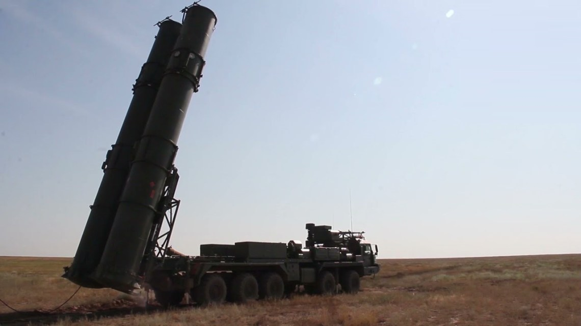 Russia's S-500 Surface-to-air Missile Successfully Tested at Kapustin Yar Training Ground