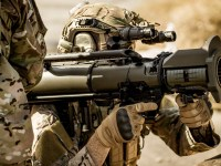 Saab's Carl-Gustaf system (designated MAAWS in the U.S. Armed Forces)