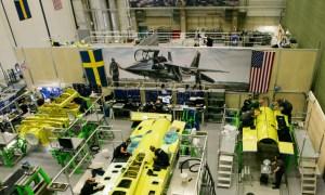 Saab Delivers T-7A Red Hawk Trainer Aft for US Air Force Flight Test Program