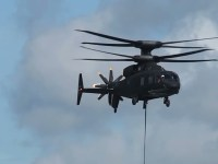 Sikorsky-Boeing SB>1 DEFIANT Helicopter Flexes Its Muscle-lifting 5,300 Pounds
