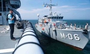 Standing NATO Mine Countermeasures Group One Completes Mine Hunting Operation in Germany