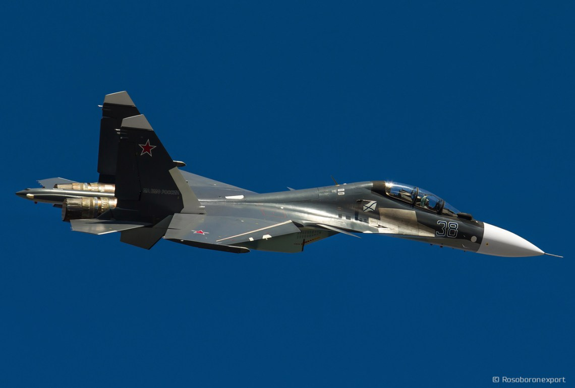 Sukhoi Su-30 Twin-engine Two-seat Supermaneuverable Fighter Aircraft