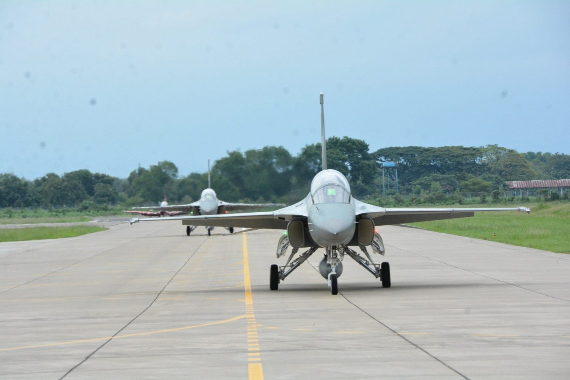 Indonesian Air Force KAI T-50i advanced jet trainers