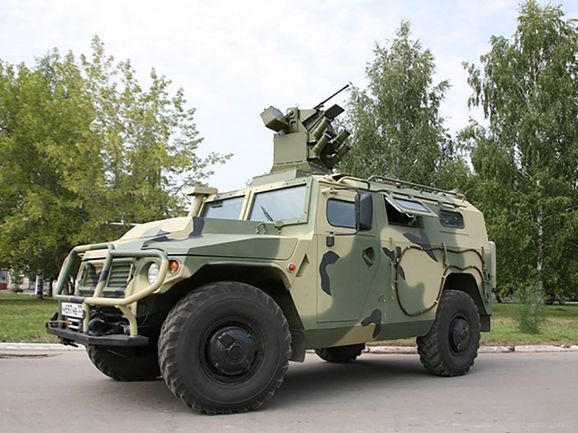 Tigr-M multipurpose vehicle
