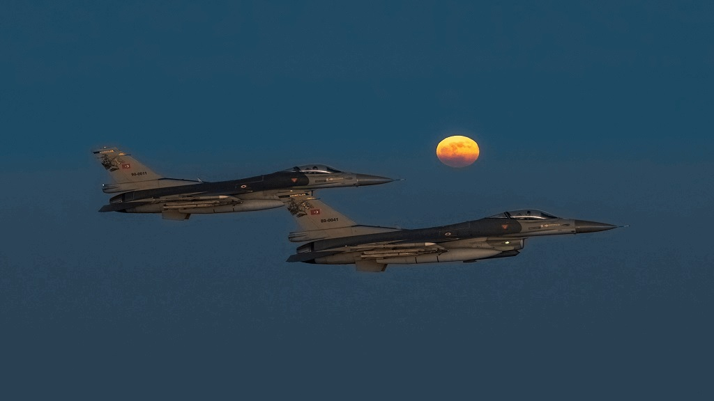 Turkish Air Force F-16C/D Fighting Falcons