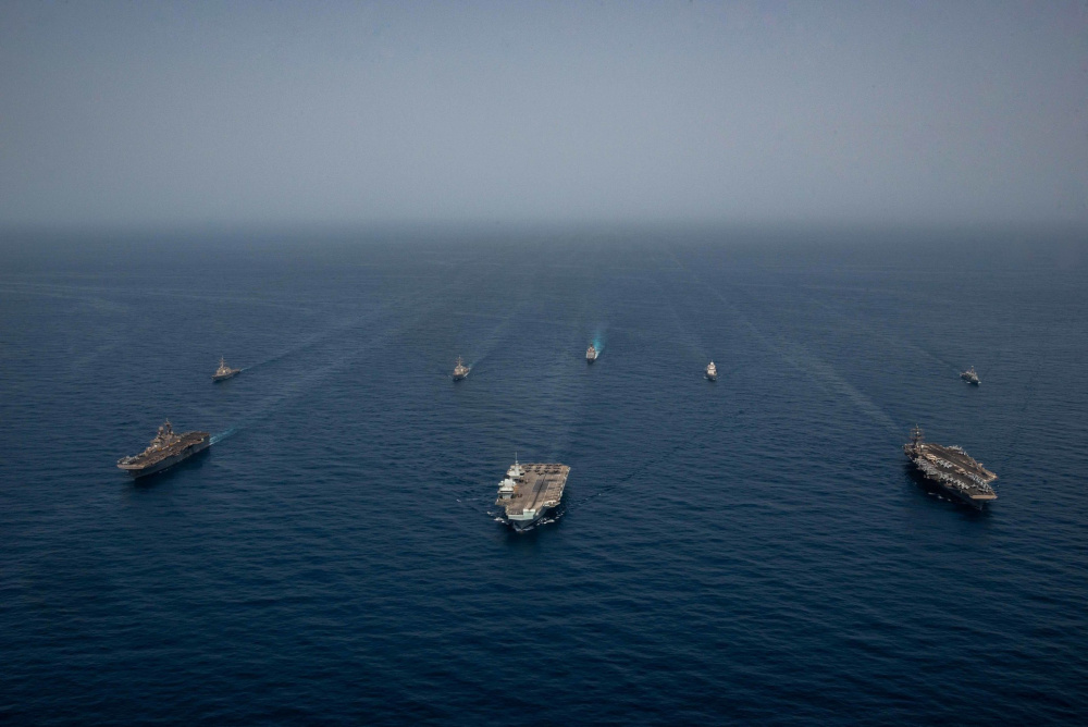 UK, Dutch and US Naval Forces Conduct Joint Interoperability Exercise in Gulf of Aden
