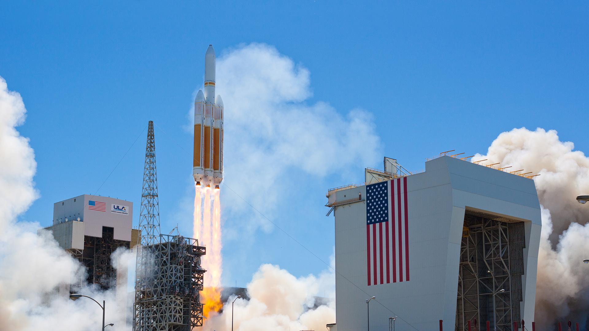 United Launch Services LLC Delta IV Heavy orbital launch vehicle