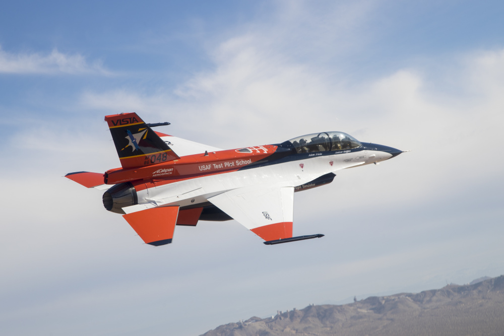 US Air Force NF-16D Variable In-flight Simulator Aircraft (VISTA) Becomes X-62A